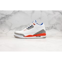 Air Jordan 3 Retro Hall of Fame White Red Blue 136064-148 36-45