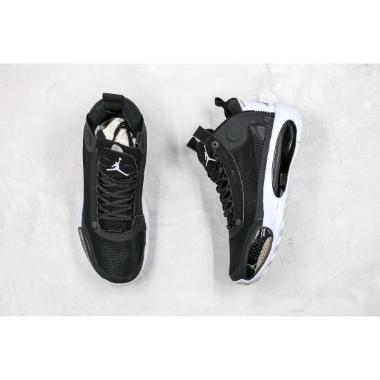 Air Jordan 34 Eclipse Black White AR3240-001 36-45