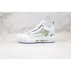 "Air Jordan 34 ""Pure Money"" White Green CU3475-100"