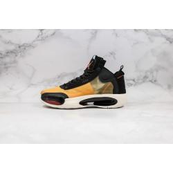 Air Jordan 34 Eclipse Black Orange BQ3381-800 36-45