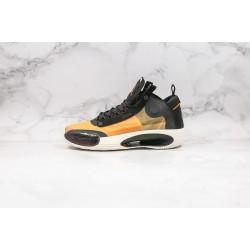 Air Jordan 34 PF Black Yellow BQ3381-800 36-45
