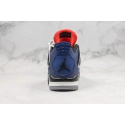 Air Jordan 4 Blue Black Red CQ9597-401 39-45
