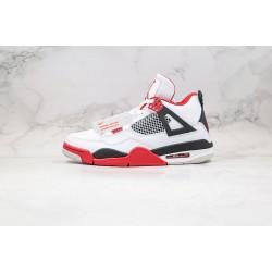 "Air Jordan 4 Retro ""Fire Red"" White Red 308497-110"