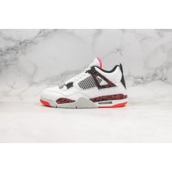 Air Jordan 4 Hot Lava White Red 308497-116 39-45