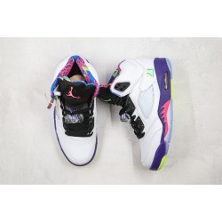 Air Jordan 5 Alternate Bel White Purple DB3335-100