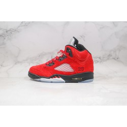 "Air Jordan 5 ""Raging Bull"" Red Black DD0587-600"
