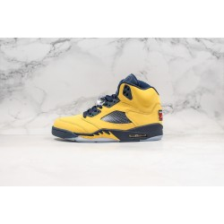 Air Jordan 5 Inspire Yellow Black CQ9541-704 36-45