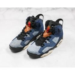 Air Jordan 6 Blue Black CT5350-401 36-45