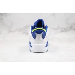 Air Jordan 6 Low GS Blue White 304401-106