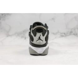 """Air Jordan 6 Rings """"Carbon Fiber"""" Black Grey 322992-004"""