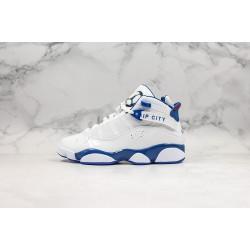 """Air Jordan 6 Rings """"Whiteblue"""" Blue White 322992-051"""