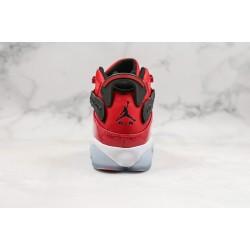 "Air Jordan 6 Rings ""Gym Red"" Red Black 322992-601"