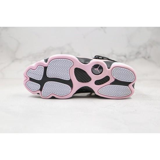 Air Jordan 6 Rings Black Pink Foam Pink Black 323399-006