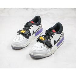 """Air Jordan Legacy 312 """"Lakers"""" White Purple CD7069-102"""