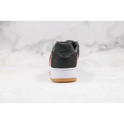Clot x Nike Air Force 1 Black Red CZ3986-011
