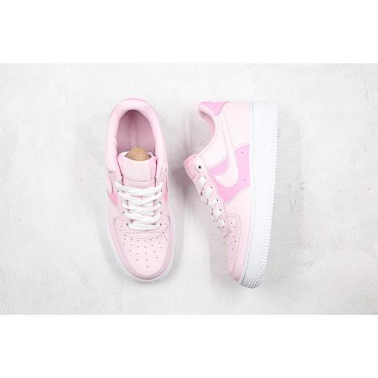 Nike Air Force 1 GS Pink White CV9646-600