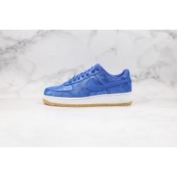 Fragment x Clot x Nike Air Force 1 Blue White CJ5290-400 36-45
