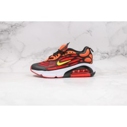 Nike Air Max 200 Red  Black Orange