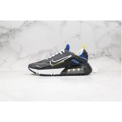 Nike Air Max 2090 Black White Yellow Blue CT7695-007 36-45