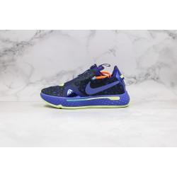 Nike PG 4 EP Black Blue CD5086-500 36-45