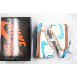 Fly x Nike SB Blazer Premium Milk White Blue Brown 314070-141
