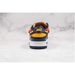 Off-White x Futura x Nike SB Dunk OW Blue Orange Red