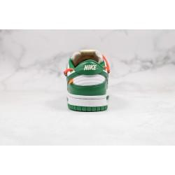 Off-White x Futura x Nike SB Dunk OW White Green Red