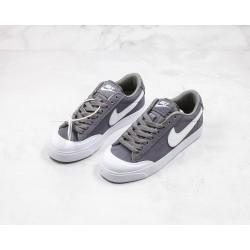 Superme x Nike SB Blazer Zoom Low XT Gray White