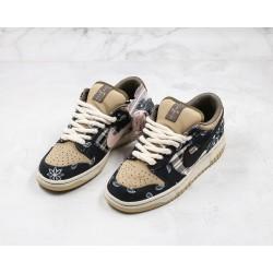 Travis Scott x Nike SB Dunk Low Black Brown CT5053-001