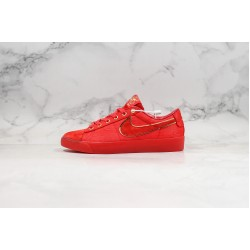 Clot x Nike SB Blazer Low All Red CJ5842-600