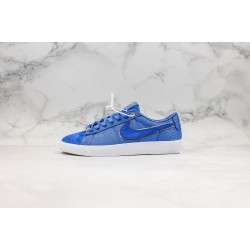 Clot x Nike SB Blazer Low Blue White CJ5842-600