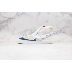 Nike SB Blazer Mid Edge White Blue Red CI3833-100