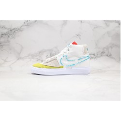 Nike SB Blazer Mid Edge White Green Blue CI3833-101