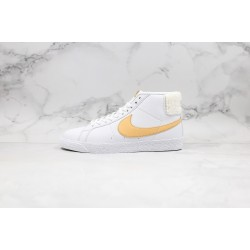 Nike SB Zoom Blazer Mid Prm White Yellow CJ6983-102