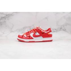 Off-White x Futura x Nike SB Dunk OW Red White