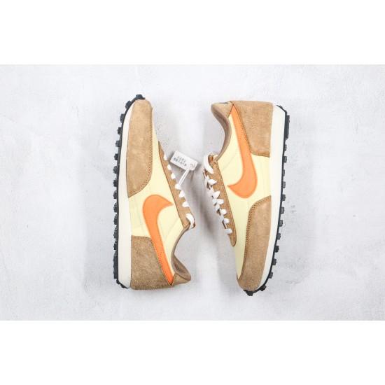 Nike Waffle Brown Orange BV7725-700 36-45