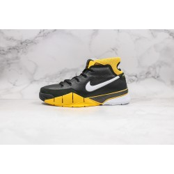 Nike Zoom Kobe 1 Protro Black Yellow 40-46
