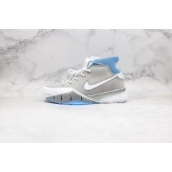 Nike Zoom Kobe 1 Protro White Gray Blue 40-46