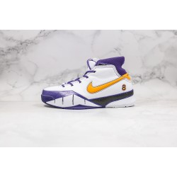 Nike Zoom Kobe 1 Protro White Purple Gold 40-46