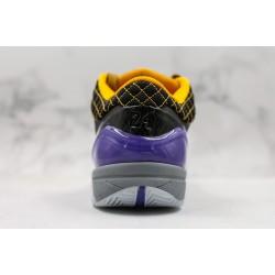 Nike Zoom Kobe 4 Black Yellow Purple AV6339-001 40-46