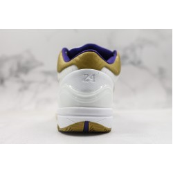 Nike Zoom Kobe 4 MLK White Purple Gold 344335-171 40-46