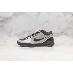 Nike Zoom Kobe 4 Gray Purple 344335-051 40-46