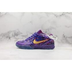 Nike Zoom Kobe 4 Prelude Purple Gold 639693-500 40-46