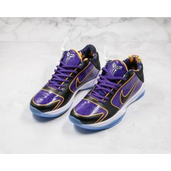 Nike Zoom Kobe 5 Prople Lakers Purple Black Gold CD4991-500 40-46