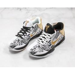 Nike Zoom Kobe 5 Protro Black White CT8044-100 40-46