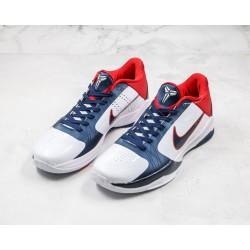 Nike Zoom Kobe 5 Red Blue White 386430-103 40-46