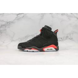 Air Jordan 6 Og Black Infrared Red 384664-060